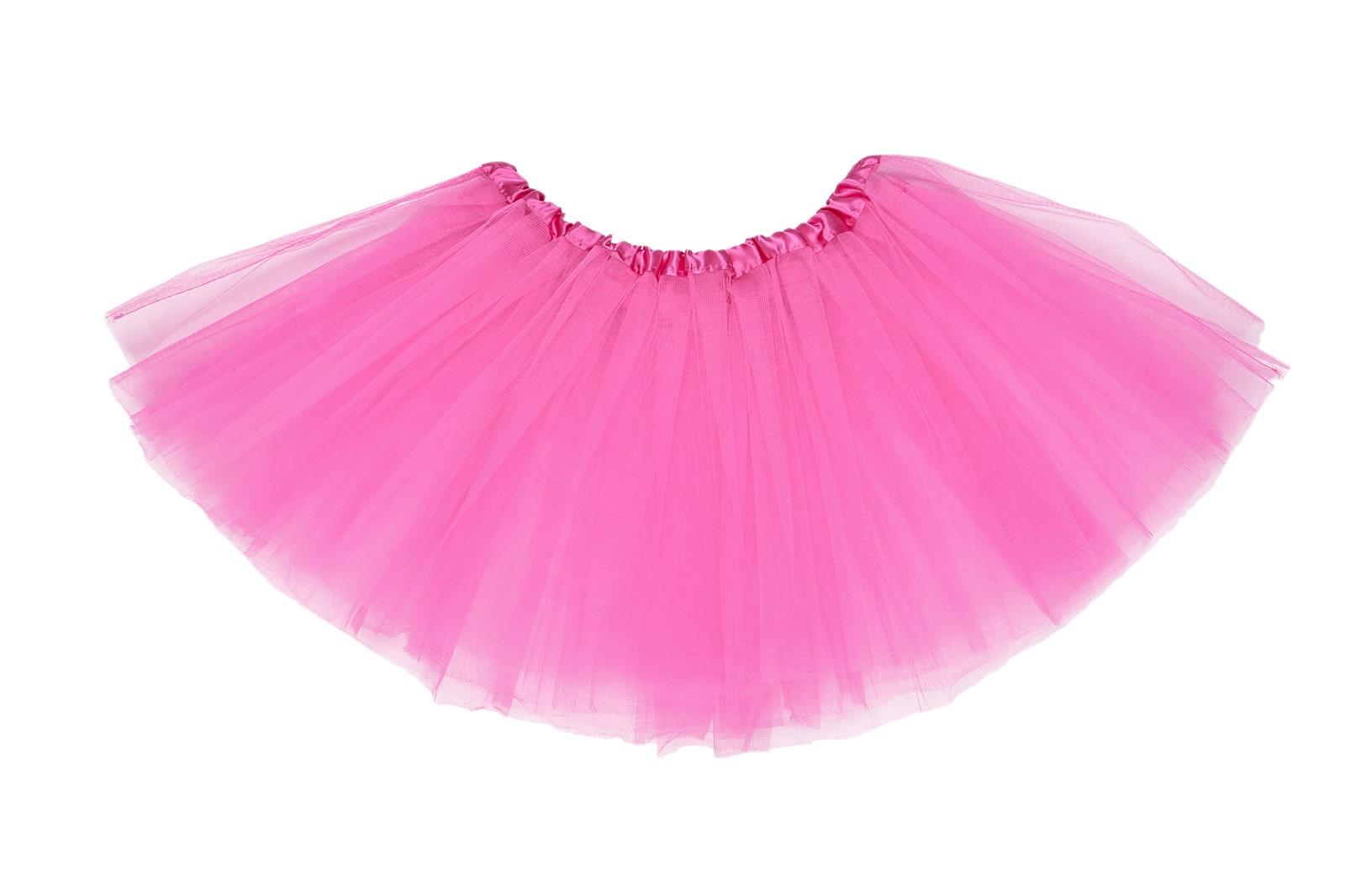 GIRLS PETTICOAT TUTU SKIRT 80S DANCE COSTUME FANCY
