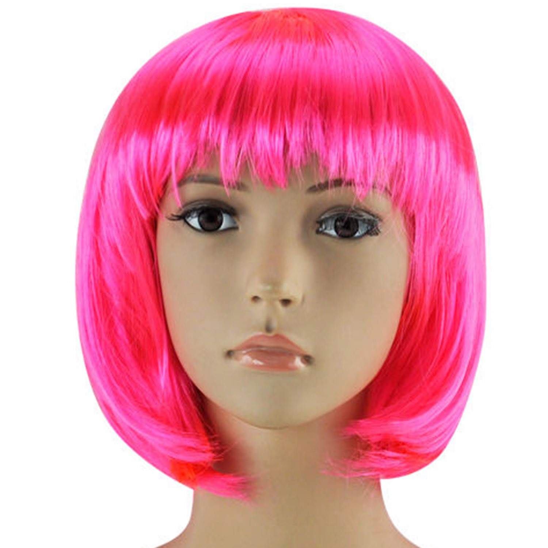 Pink Short Wig Ebay 62