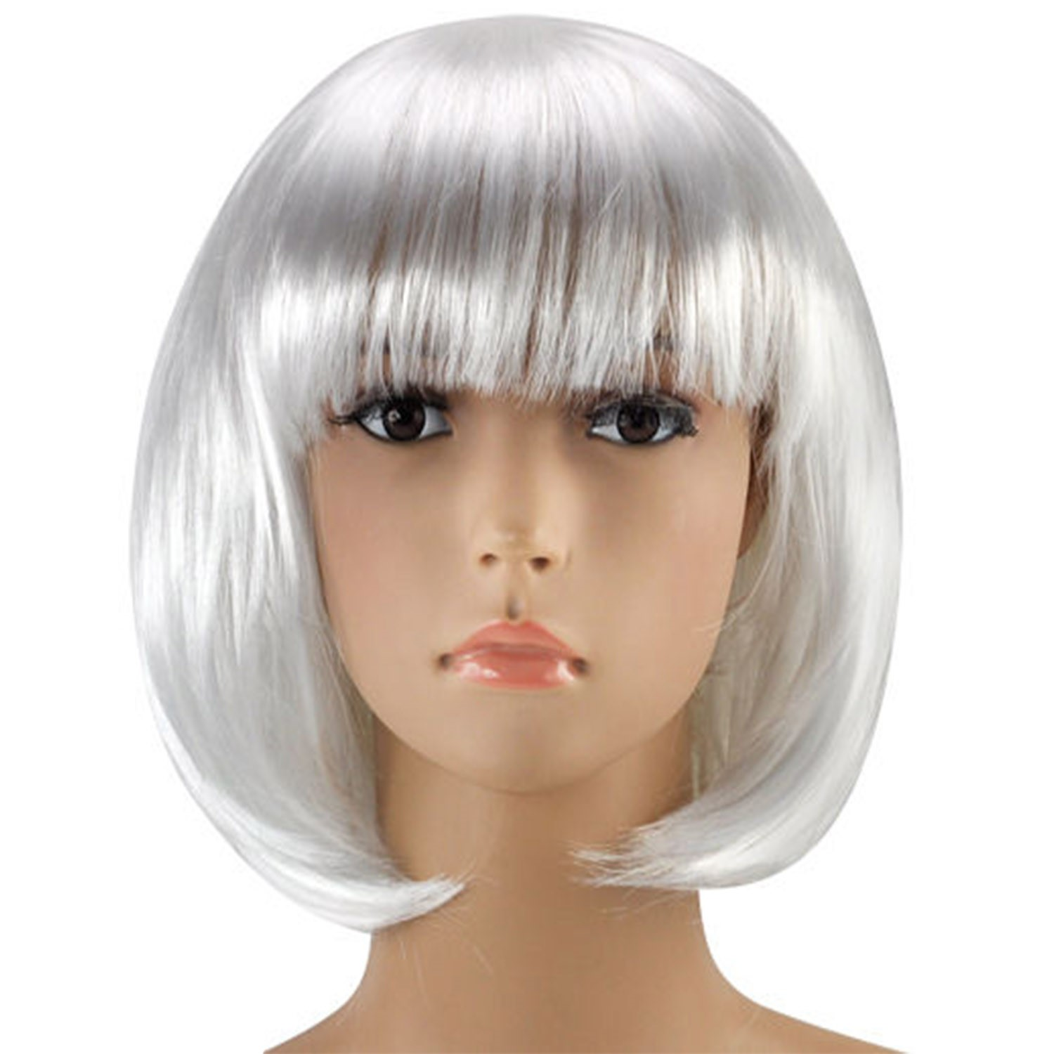 Womens Ladies Short Bob Wig Fancy Dress Cosplay Wigs Pop