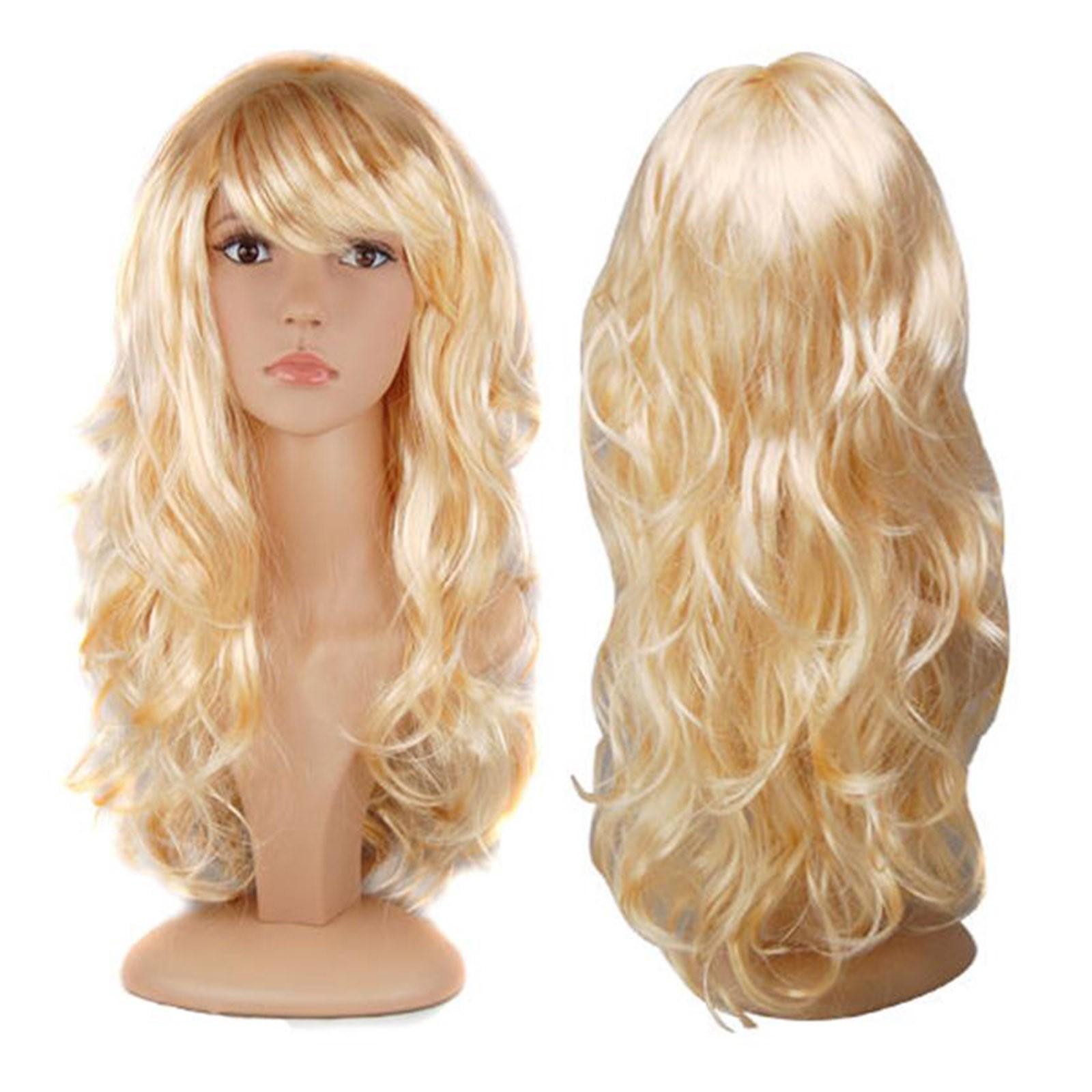 Blonde Wavy Wigs 99