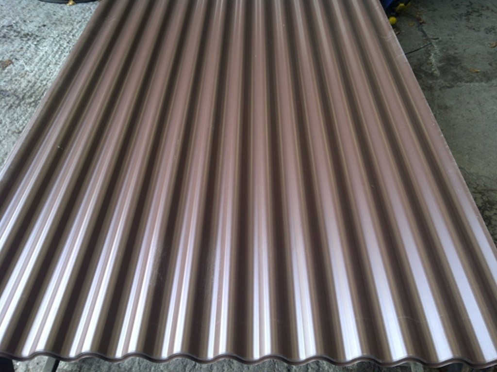 metal corrugated roof panels galvanised roof panels ebay. Black Bedroom Furniture Sets. Home Design Ideas