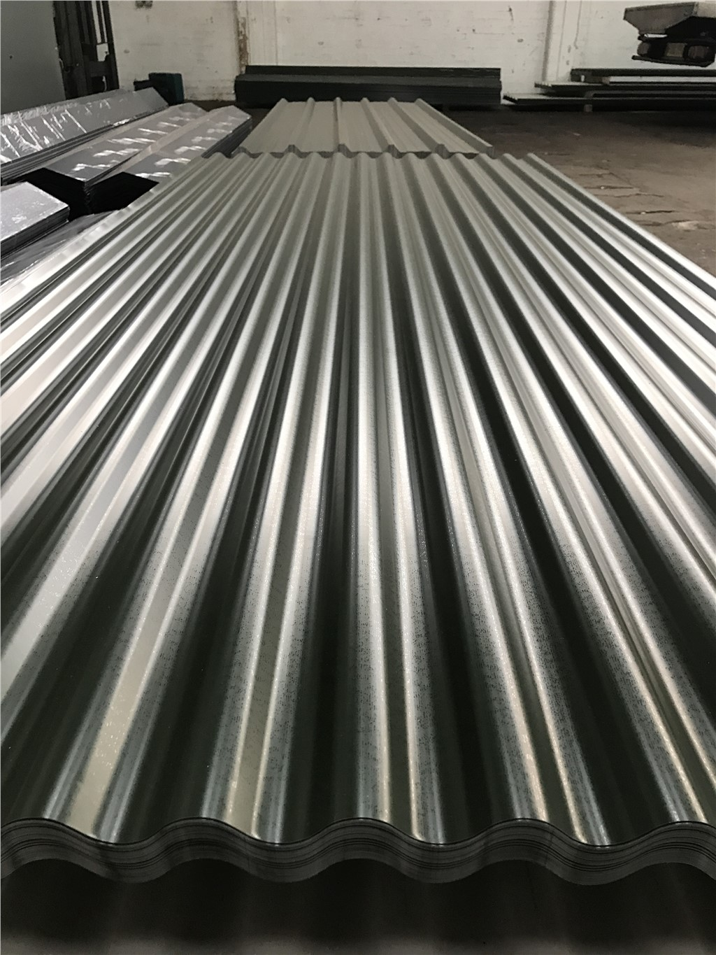 Corrugated Steel Cladding Roof Sheets Select Length And Colour Ebay