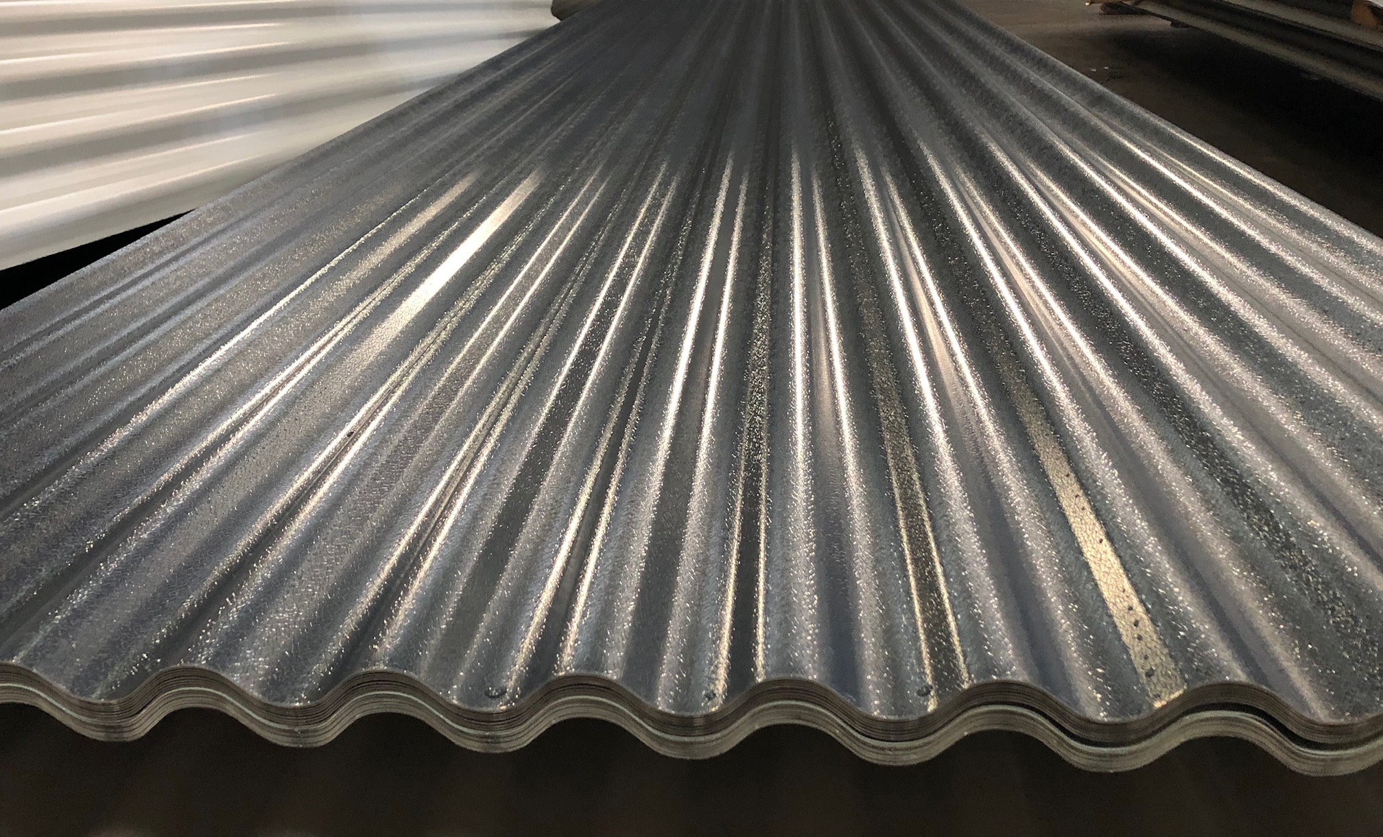 Steel Corrugated Roof Sheets Roof Cladding 0 5mm 0 7mm Ebay