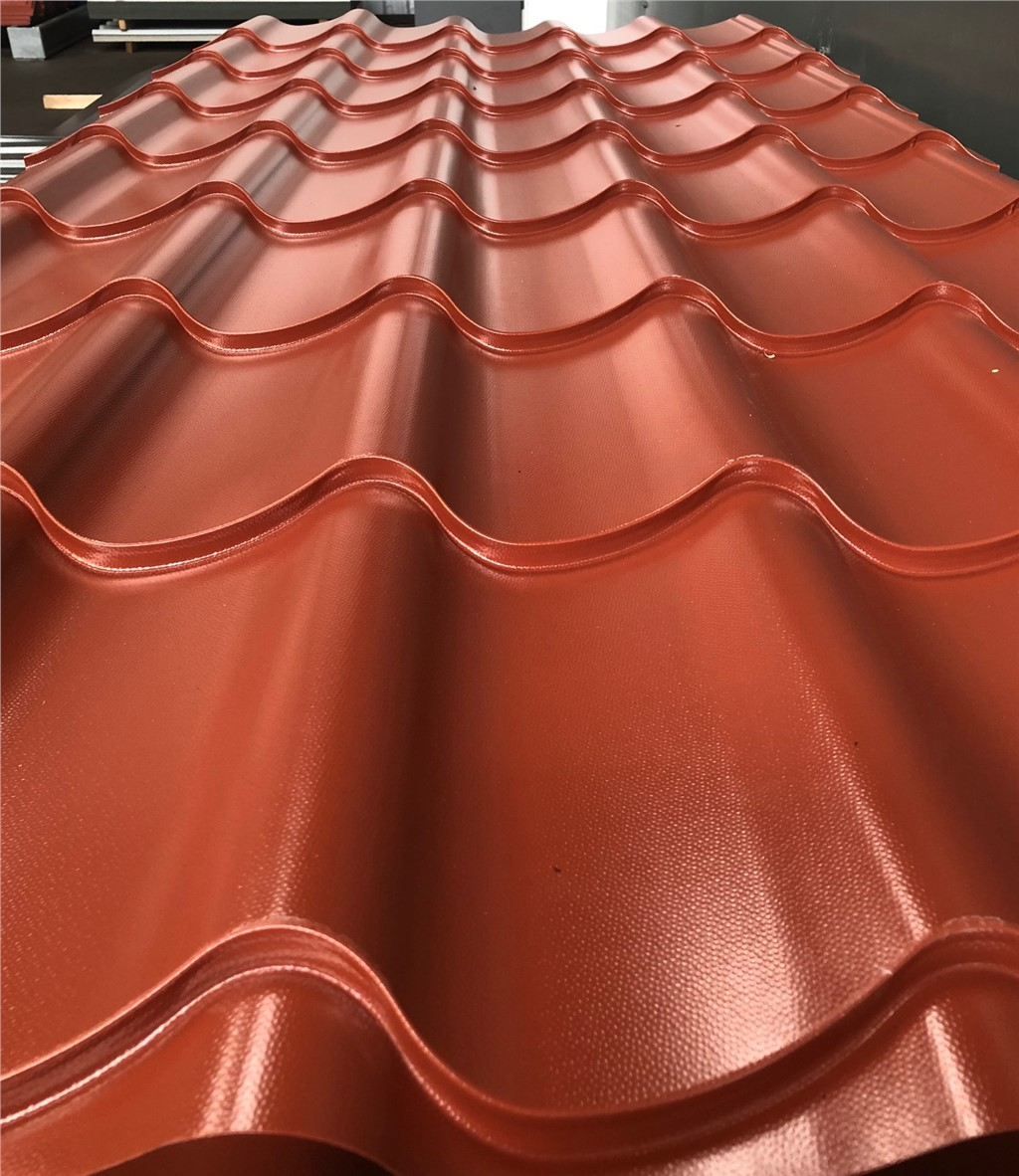 Details about ROOF SHEETS GALVANISED STEEL CLADDING WAVE TILE **PLASTIC  COATED STEEL**