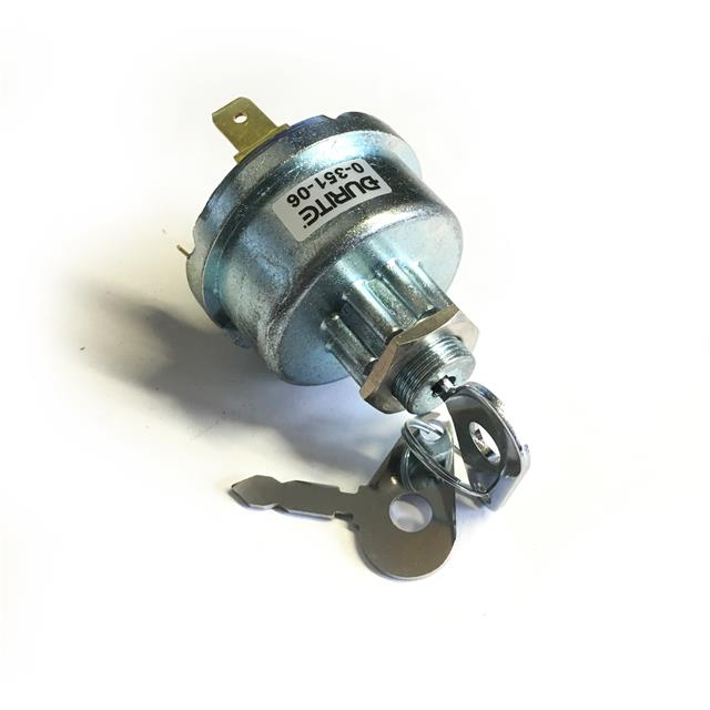 Durite 4 Position Heavy Duty Ignition Switch 16mm Panel