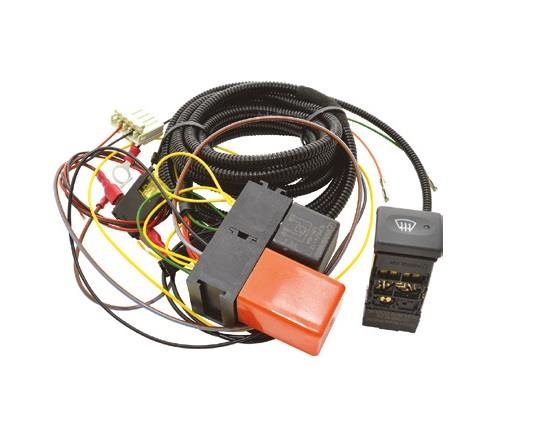Defender Heated Wind Screen Wiring Harness Relay And Oem Td5 Tdci Switch Kit
