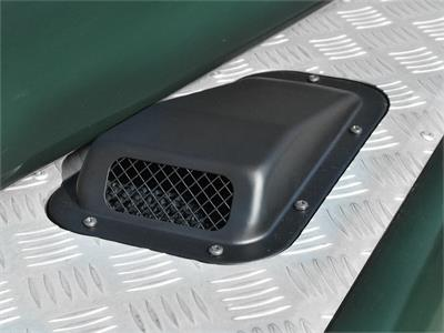 Land Rover Defender Kbx Face Lift Grille Kit Satin Black