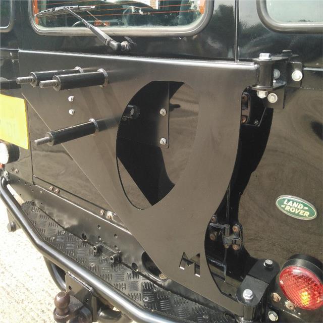 Terrafirma Land Rover Defender Hard Top Swing Away Spare