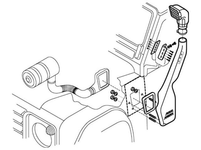 Genuine Land Rover Range Rover P38 Steering Damper