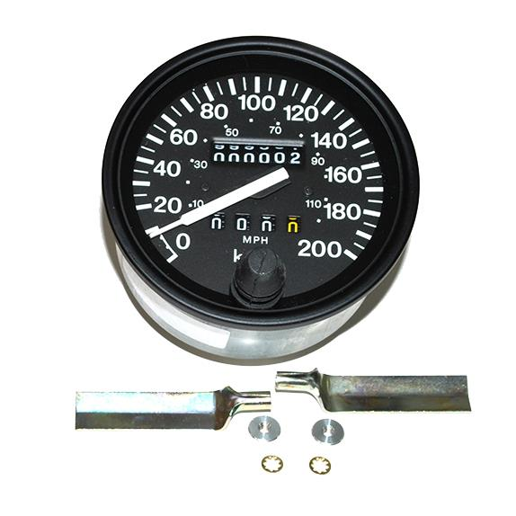 land rover defender 39 83 39 93 oem speedometer head in kmh mph prc7375 ebay. Black Bedroom Furniture Sets. Home Design Ideas