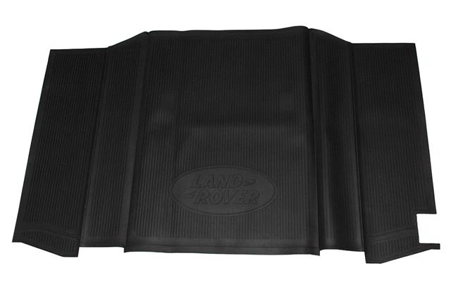 Deployed Side Steps For Range Rover Genuine Accessory: Genuine Land Rover Defender 90 Full Rear Rubber Loadspace