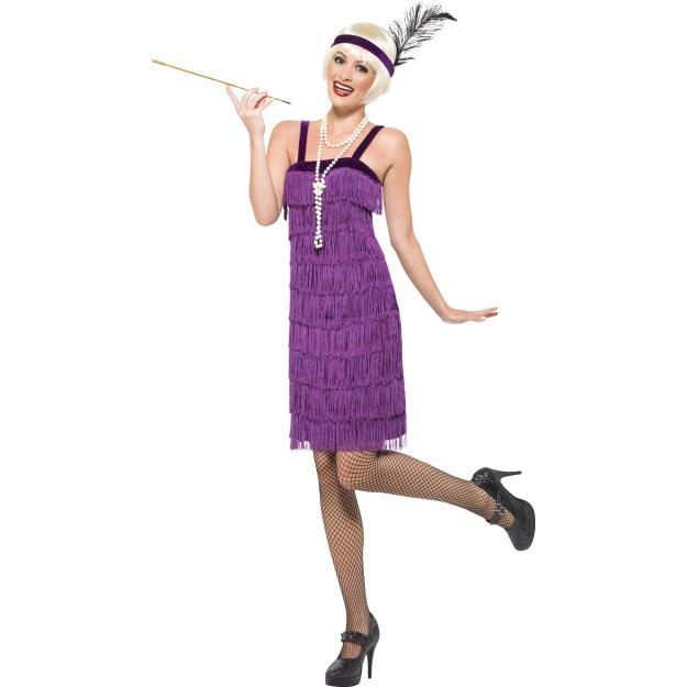 1920s-Purple-Flapper-Dress-Great-Gatsby-Titanic-Downton-Abbey-Fancy-Dress