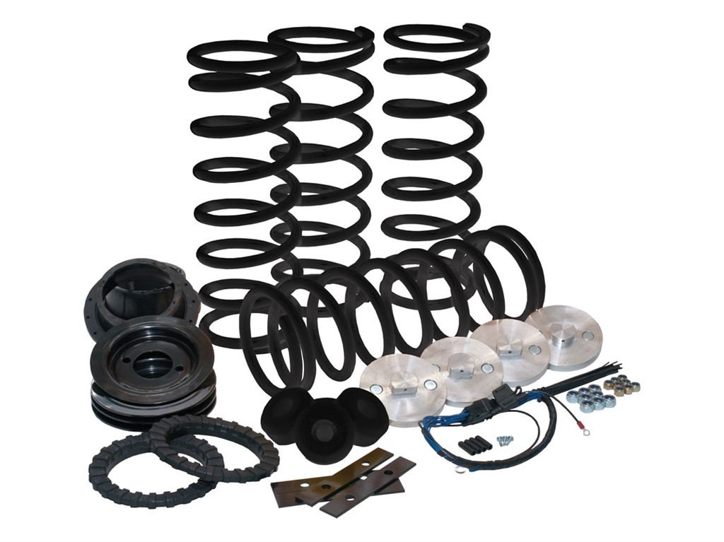 """1995~2002 ROVER RANGE Coil Spring Conversion 2/"""" Lift Aluminum Spacer Front Rear"""
