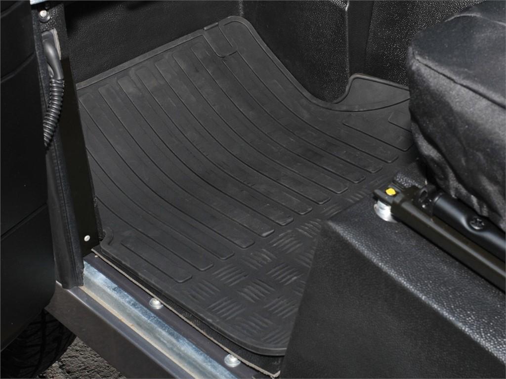 Land Rover Defender TD5-Avant Tapis Caoutchouc-DA4423
