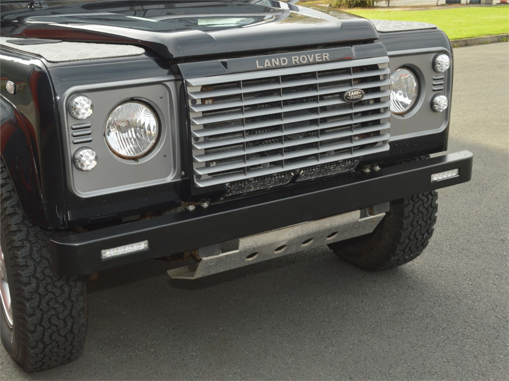 Land Rover Defender 90 110 Front Bumper With Integrated