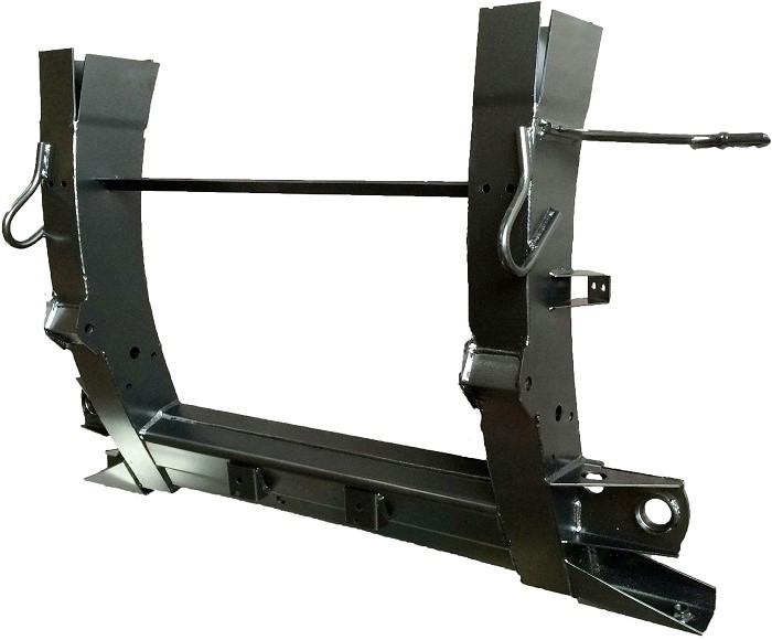 Land Rover Discovery 2 Td5 Rear Chassis Legs Crossmember
