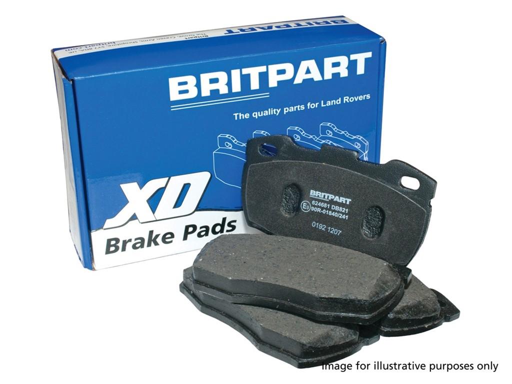 LR055454 L322 /& Discovery 3 /& 4 Rear Brake Pads EBC ULTIMAX Range Rover Sport