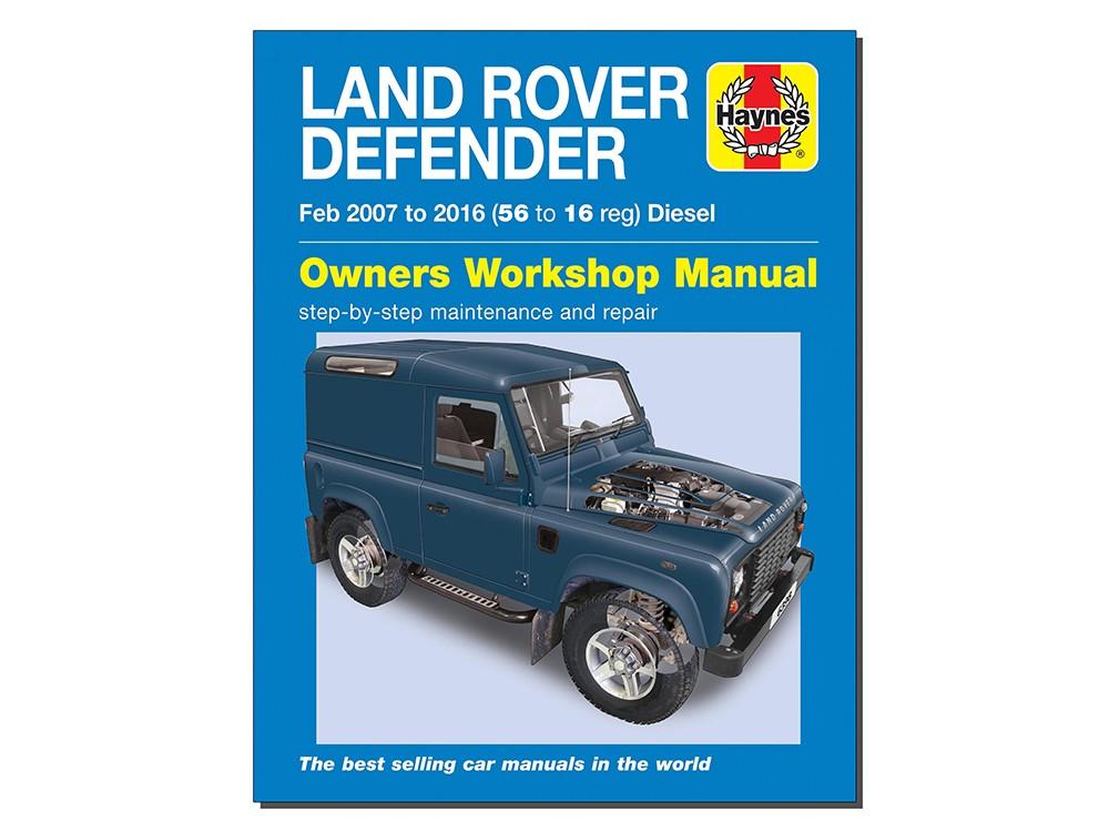 DA3206 LAND ROVER DEFENDER DIESEL MODELS 2007-2016 HAYNES WORKSHOP MANUAL