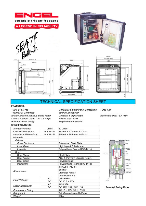 Wiring Diagram Engel Fridge    Wiring Diagram