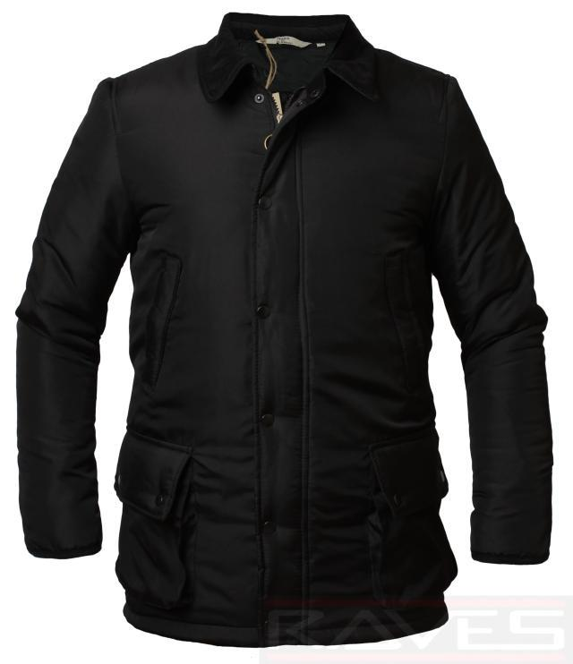 Mens Nike Quilted Padded Black Hunter Coat Jacket Mens Size BNWT