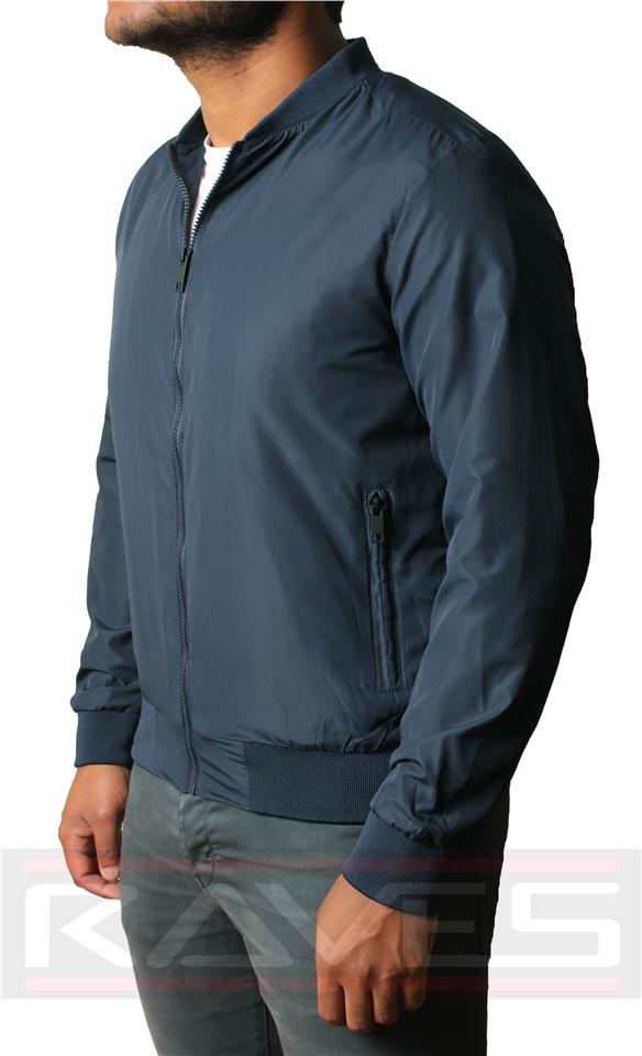 Mens-Casual-D-Project-Light-Weight-Bomber-Jacket-Coat-Winter thumbnail 5