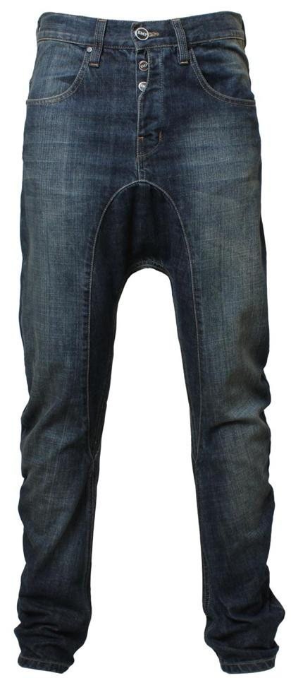 Mens EMP Rome drop crotch carrot/slim fit denim jeans  eBay