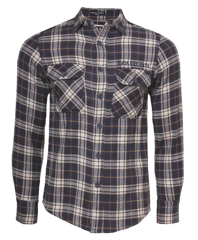 Mens Hope /& Honour casual long sleeve check shirt S,M,L,XL /& XXL