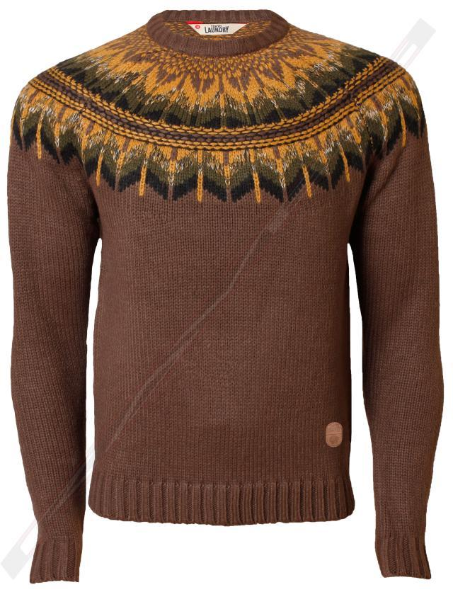 mens jumper Tokyo Laundry knitted sweater pullover zip casual funnel neck winter