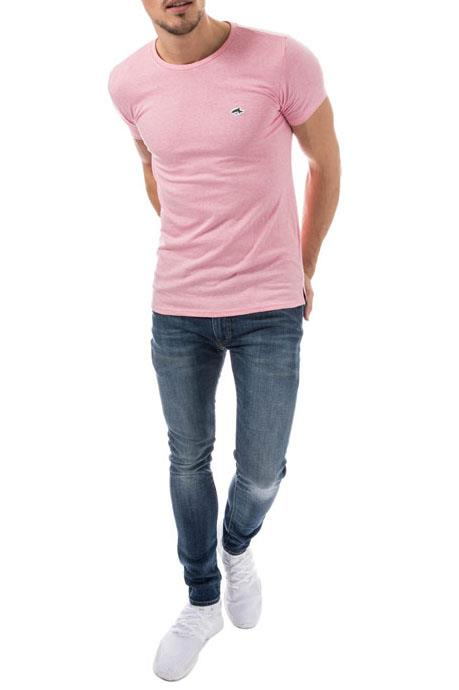 79b8162929cd Mens Le Shark T-Shirt Tee Crew neck Designer Fit Short Sleeve Cotton Top  KEPPEL