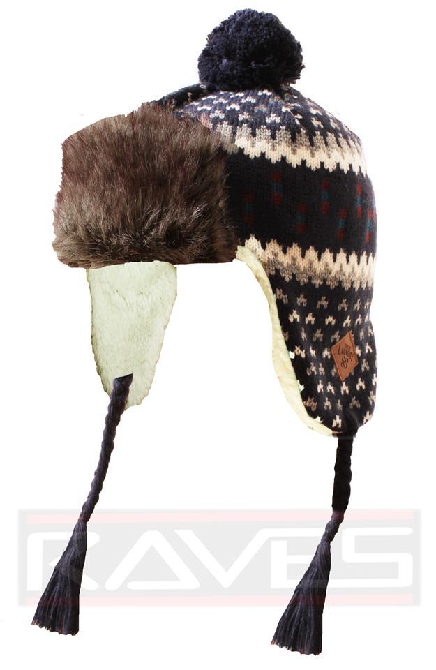 54e27e1f733d6 Mens Unisex Tokyo Laundry Knitted Winter Warm Pom Pom Bobble Fur Hat Cap  Beanie