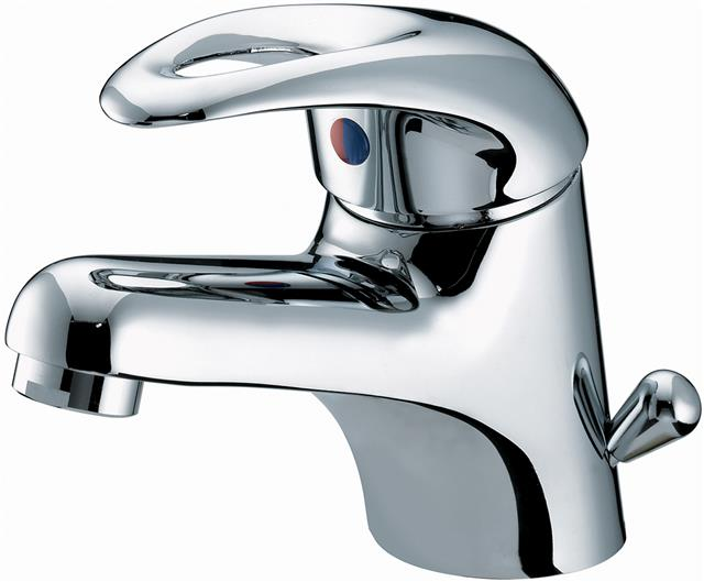 Bristan Java Mono Basin Mixer Tap with Side Action Pop Up Waste Chrome Plated