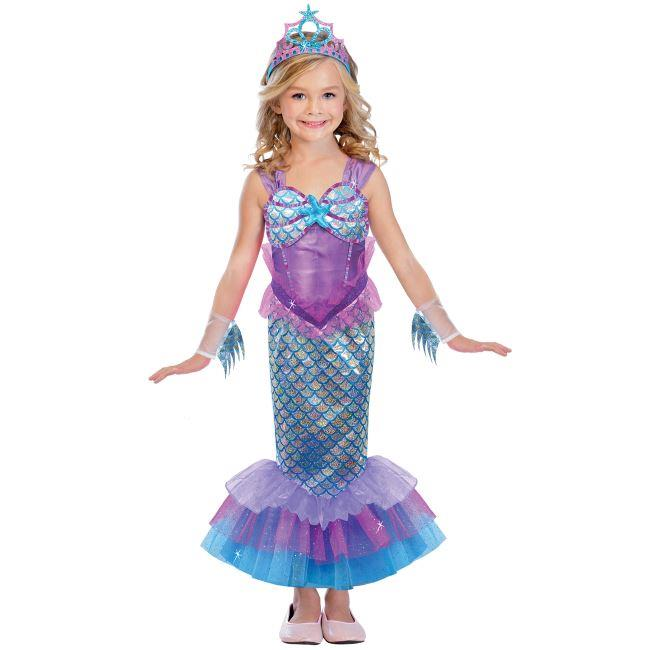 Childrens mermaid costume girls princess world book day fancy dress does not include shoes solutioingenieria Choice Image