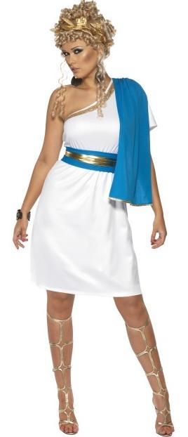 ladies roman beauty greek goddess fancy dress costume