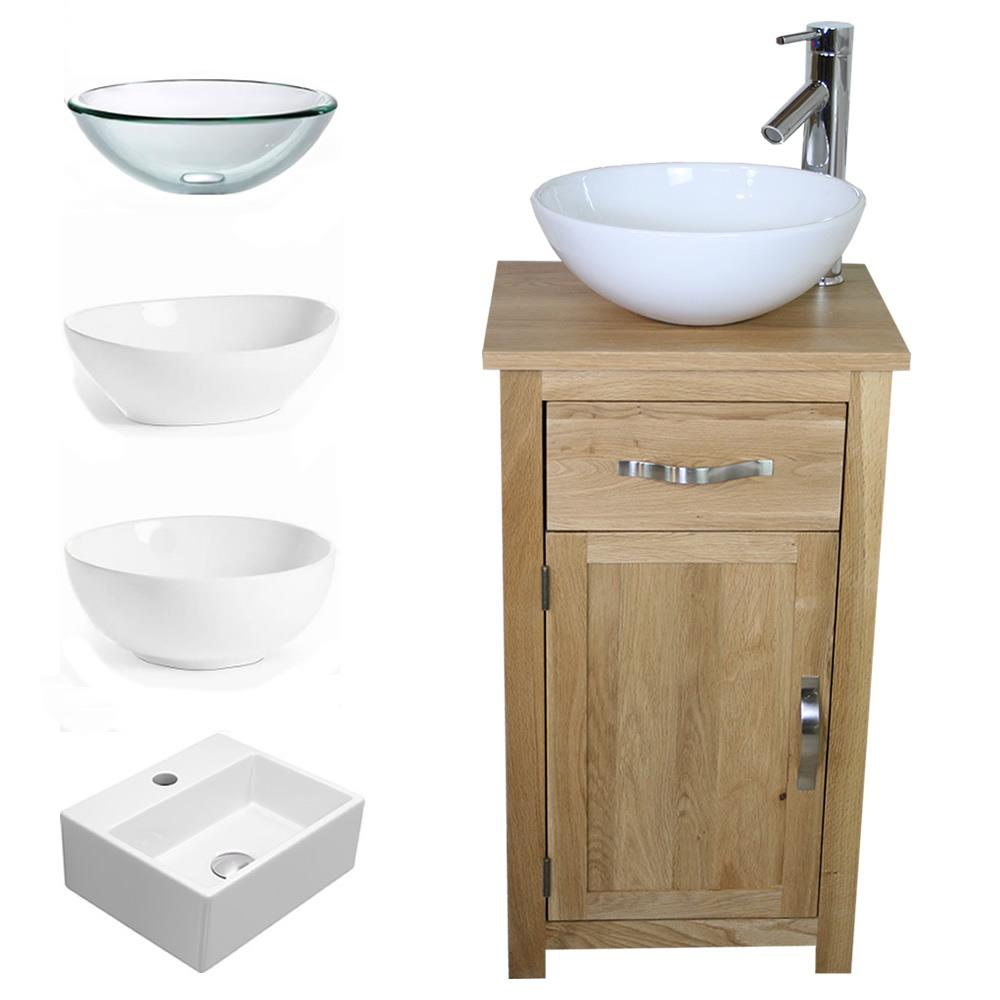 Small Bathroom Vanity Cabinets.Details About Solid Oak Bathroom Cabinet Compact Vanity Sink Small Bathroom Vanity Units