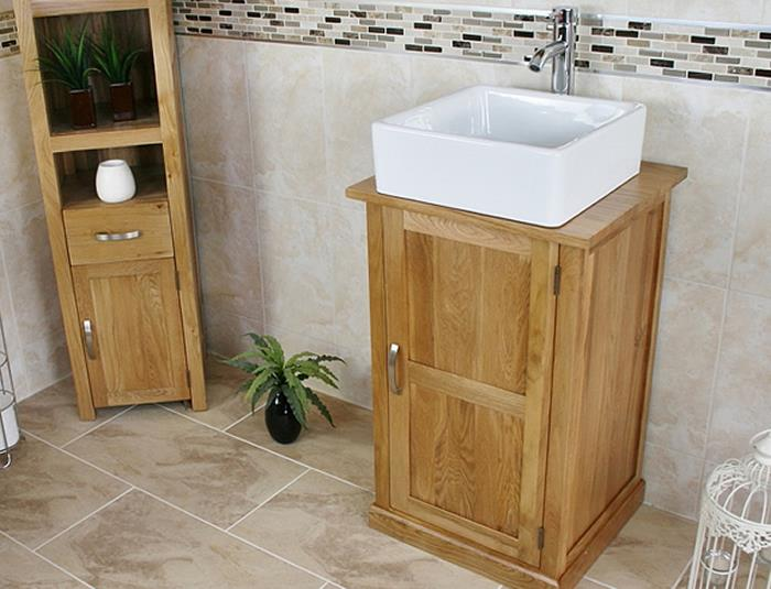oak bathroom sink cabinets solid oak bathroom cabinet oak sink bathroom 19761