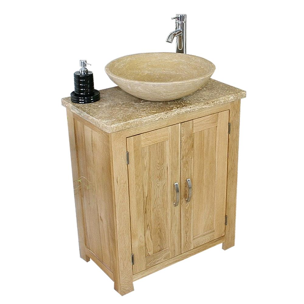 Astounding Details About Solid Oak Bathroom Vanity Unit Bathroom Slimline Cabinet Travertine Worktop Home Remodeling Inspirations Genioncuboardxyz