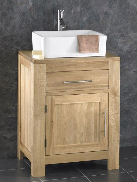 Ebay Bathroom Vanity With Sink: Oak Bathroom Vanity Cabinet 60cm Wide Vanity Furniture