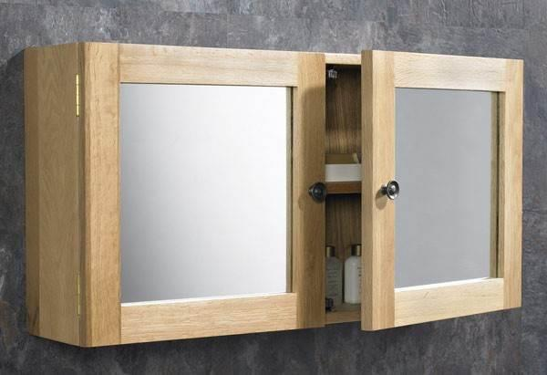 Stainless Steel Single 66cm X 46cm Sliding Door Bathroom Mirror Wall Cabinet