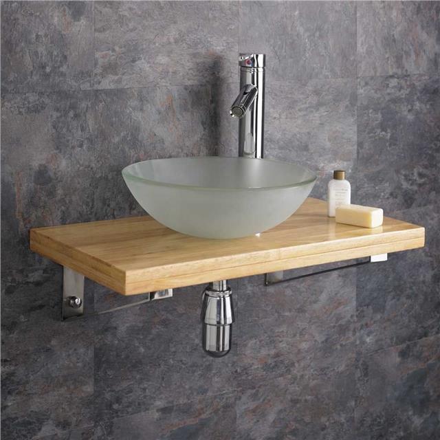 Bathroom Sink With Shelf