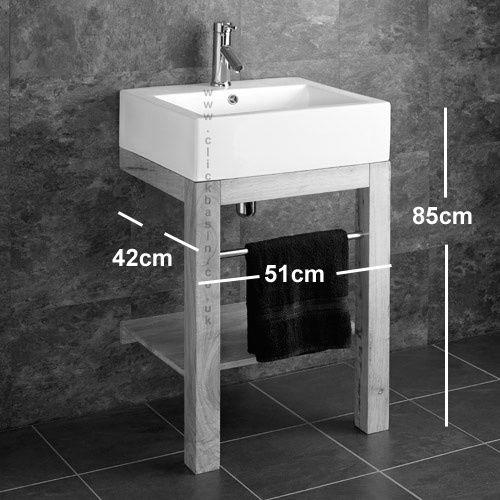 Freestanding Bathroom Basin Sink Ceramic Belfast Floor