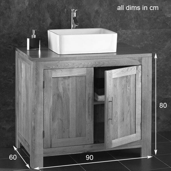 Free Standing Bathroom Sink Vanity Units Artcomcrea