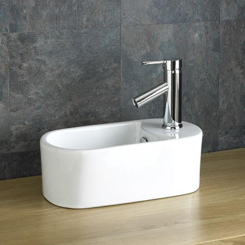 Space Saving Sink Small Basin 40 5cm X 20 5cm Countertop