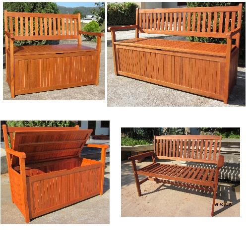 Awe Inspiring Details About Hardwood Wooden Garden Storage Bench 2 And 3 Seater Wood Bench Outdoor Patio Lamtechconsult Wood Chair Design Ideas Lamtechconsultcom