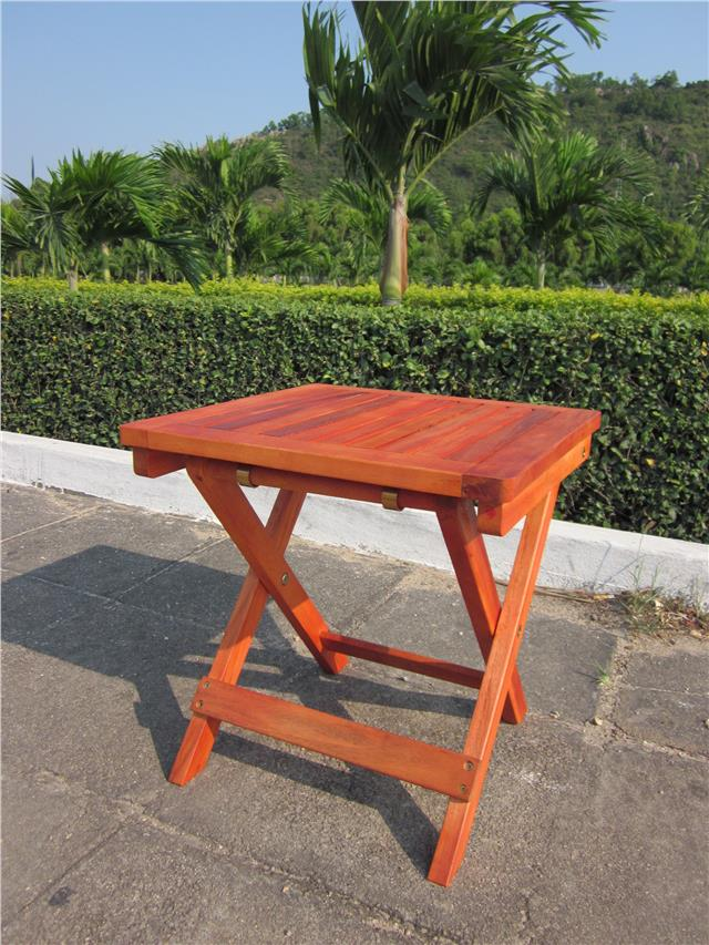 wooden folding square table outdoor garden patio small side coffee 50cm 40cm ebay. Black Bedroom Furniture Sets. Home Design Ideas