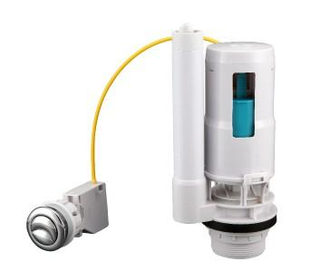 cistern toilet push button valve dual flush syphon fill