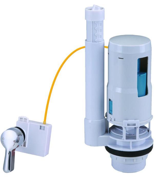 Cistern Toilet Push Button Valve Dual Flush Syphon Fill