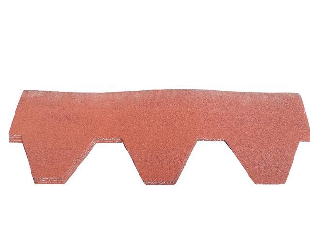 Hexagonal roof felt tiles shingles pack of 21 asphalt bitumen self adhesive - Feutre bitume toiture ...