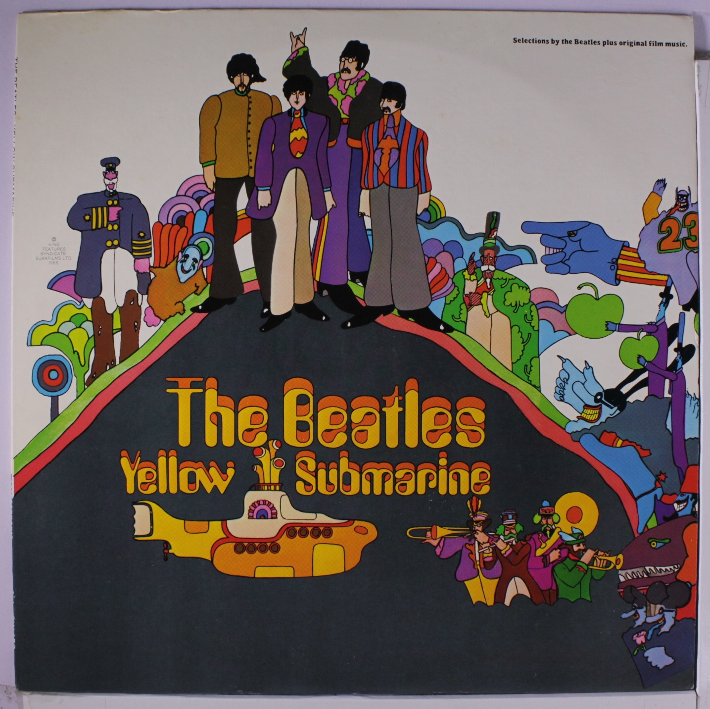 The Beatles Yellow Submarine Vinyl Lp