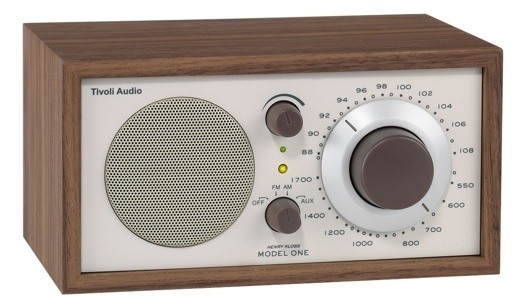 tivoli audio model one am fm table radio walnut classic beige 5055581829224 ebay. Black Bedroom Furniture Sets. Home Design Ideas