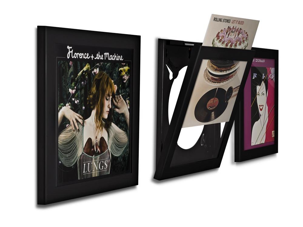 Art-Vinyl-Play-amp-Display-Flip-Frame - Vinyl Wall Mount Cymun Designs